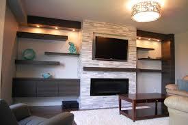 gas fireplace under tv ideas