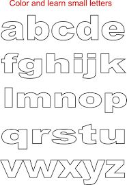 Free printable block letter style alphabet stencils. Small Letters Coloring Printable Page For Kids Alphabets Coloring Printable Pages For Kids Small Alphabet Letters Lettering Alphabet Small Alphabets