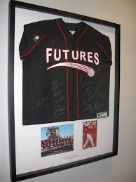 Futures Game Framed Jersey