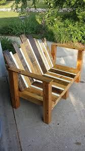 adirondack multi colored wide bench