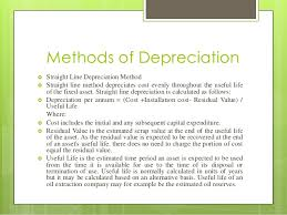 Different Depreciation Methods Depreciation With Different Methods