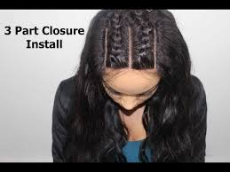 Braid Pattern For Closure Amazing How To Install A 48 Part Closure Braid Pattern YouTube MusicBaby