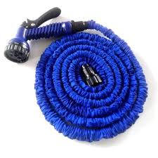 15m 50ft magic multifunctional expandable garden flexible hose pipe spray blue