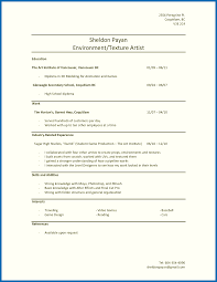 How To Make Resume For Highschool Student With Noperience