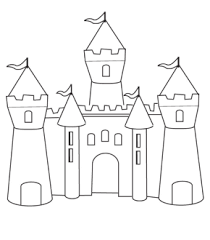 Small Picture castle coloring page Future baby girl Pinterest Coloring