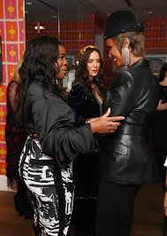 more angles of iman leather jacket