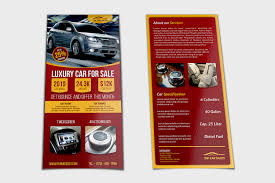 Car For Sale Flyer Dl Size Template