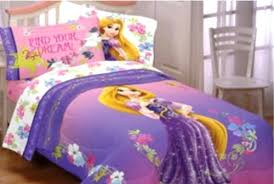 Princess Rapunzel Bedding Set Tangled, padded Duvet Cover with matching 3pc  Sheet Set, Single