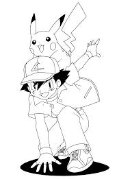 Pokemon Coloring Page Ash Graninja Ash Greninja Coloring Pages