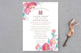 chinese traditional wedding invitations by qing ji minted Wedding Invitation Affiliate Program \