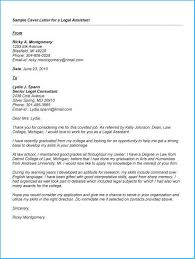 Enchanting Legal Assistant Cover Letter Which You Need To