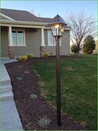 lighting front yard lamp post not working height gas yard light post r85