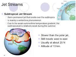 where do jet streams form study notes on jet streams