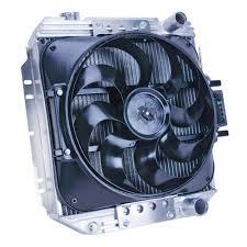 fan kit. flex-a-lite aluminum radiator \u0026 electric fan kit 289 1965-1966 t