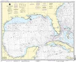 Noaa Navigation Charts Noaa Chart 411 Gulf Of Mexico