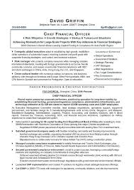 Cfo Resume Template Unique Cfo Resume Samples Mycola