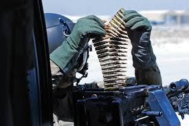 u s department of defense photo essay  u s army sgt steve lafond prepares ammunition for an m 240h machine gun before