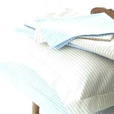 grey and white striped duvet cover blue