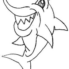 Small Picture Tiger Shark Coloring Pages Perfect Similiar Shark Open Mouth