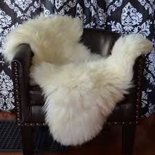 uk ultra plush white sheepskin 72722