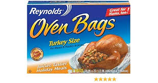 Reynolds Turkey Bag Cooking Chart Reynolds Oven Bags Turkey Size 2 Count Pack Of 24