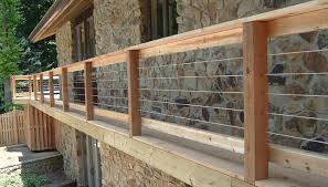 Stainless Steel Cable Deck Railing Systems View plenty Deck Railing Ideas  http://awoodrailing