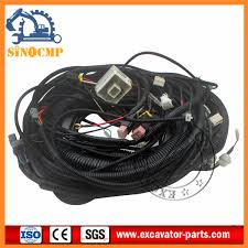 hitachi excavator wiring harness 0001045 for ex200 2 hitachi hitachi excavator wiring harness