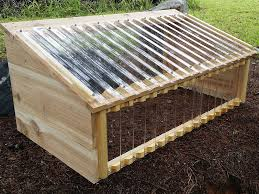 cold frame with tuftex polycarbonate panels