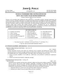 auto sales resume samples fabulous sales representative resume sample pdf about sample