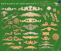 wood furniture appliques. Resin Furniture Appliques And Onlays Architectural Applique Or Shabby French Chic Real Wood Q