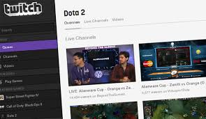 you can link your twitch account to steam and earn dota 2 things