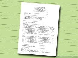 how to make a resume    free sample resumes    wikihowimage titled make a resume step