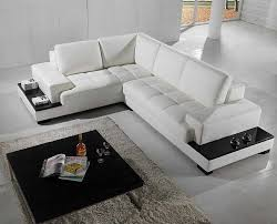 amazoncom vig furniture t modern leather sectional kitchen