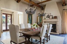 los angeles high back wing dining room terranean with tuscan solid chairs