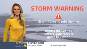 Sophia Bird has update on RED storm warning | Channel | ITV News