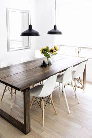 delightful handmade dining room table on handmade entertainment center