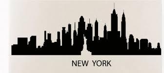 new york skyline wall sticker new york city skyline statue of libery wall decal bedroom city on new york city skyline wall art with new york skyline wall sticker new york city skyline statue of libery