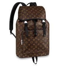 monogram leather backpacks monogram macassar