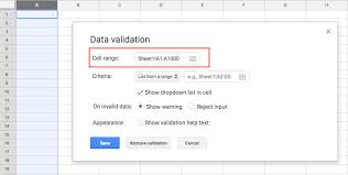How To Create A Dropdown List In Google Sheets