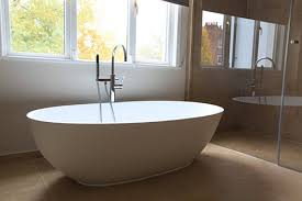 Luxury Freestanding Soaking Bathtub With Overflow