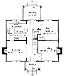 colonial house plans. Center Hall Colonial House Plan Plans