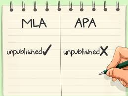 How To Cite Dissertation Mla Differentiate From Apa Citation Style