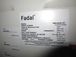 fadal wiring diagrams fadal 4020ht vertical machining center