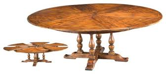free extendable dining table plans expandable round tables furniture design futures house interiors