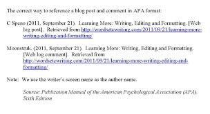 Apa Format For Internet Sites Research Paper Sample August 2019