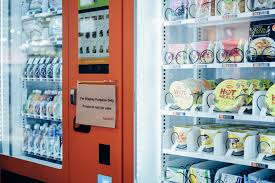 Frozen Product Vending Machine Adorable This Vending Machine Festival Serves Up Readytoeat Meals Like