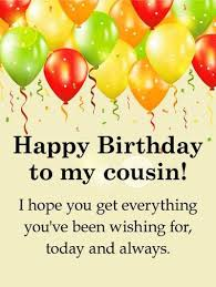 Cousin Birthday Quotes Adorable 48 AMAZING Happy Birthday Cousin Quotes With Images BayArt