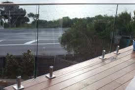 glass deck railing system magnificent frameless systems breathtaking invisirail rail home ideas 27