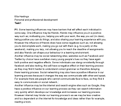 personal and professional development my learning influences and document image preview
