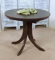 Tisch Esstisch Küchentisch rund ausziehbar Massiv Holz weiß buche